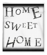 Home Sweet Home 3 Fleece Blanket