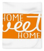 Home Sweet Home Tennessee Fleece Blanket