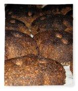 Homemade Lithuanian Rye Bread Fleece Blanket