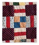 Homemade Quilt Fleece Blanket
