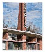 Homer Hamilton Theatre Sign Fleece Blanket