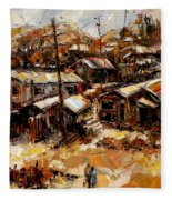 Homes In The Hills  Chaves Revine Fleece Blanket