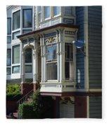 Homes Of San Francisco Fleece Blanket
