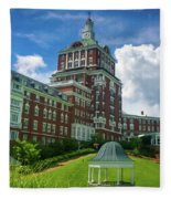 Homestead Omni Hotel Fleece Blanket