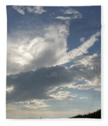 Homestead Sky Fleece Blanket