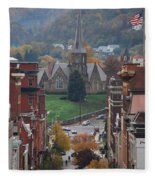 My Hometown Cumberland, Maryland Fleece Blanket