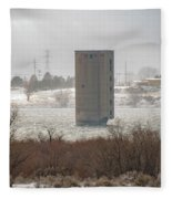 Hometown Landmark Fleece Blanket