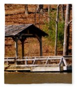 Hometown Series - Sherando Lake -2 Fleece Blanket
