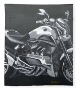 Honda Concept Evo 6 Fleece Blanket