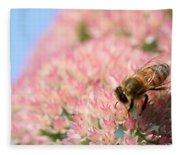 Honey Bee 3 Fleece Blanket
