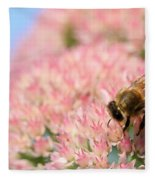 Honey Bee 3 Fleece Blanket
