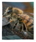Honey Bee Fleece Blanket