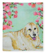Honey Flowers Everyday Fleece Blanket