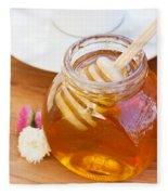 Honey Jar Fleece Blanket