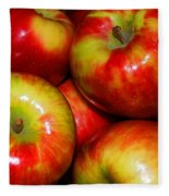 Honeycrisp Apples Fleece Blanket