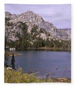 Honeymoon Lake Fleece Blanket