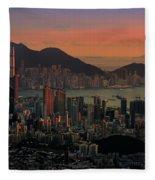 Hong Kong Fleece Blanket