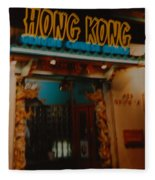 Hong Kong Fleece Blanket