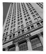 Honigman Fashion - Downtown Detroit Fleece Blanket