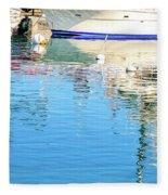 Honokohau Reflections Fleece Blanket