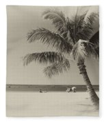Honolulu Beach Fleece Blanket
