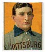 Honus Wagner, Pittsburg Pirates Fleece Blanket