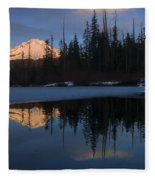 Hood Alpenglow Fleece Blanket