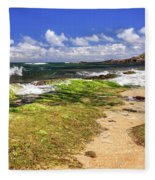 Ho'okipa Beach Maui Fleece Blanket