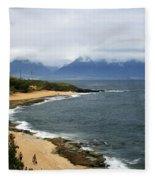 Hookipa Beach Maui North Shore Hawaii Fleece Blanket