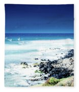 Hookipa Blue Sensation Fleece Blanket