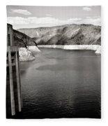 Hoover Dam Intake Towers #2 Fleece Blanket
