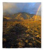 Hope From Desolation Fleece Blanket