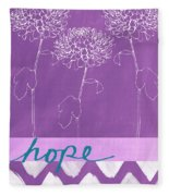 Hope Fleece Blanket