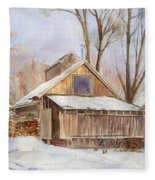 Hope Valley Sugar House Fleece Blanket