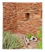 Hopi House Garden Fleece Blanket