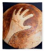 Hopi Jar Fragment Fleece Blanket