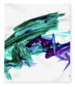 Hopper Collision Fleece Blanket