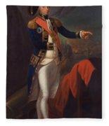 Horatio Nelson - Viscount Nelson Fleece Blanket