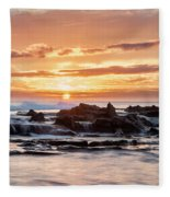 Horizon In Paradise Fleece Blanket