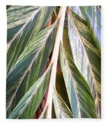 Horizon Of Palm Fleece Blanket