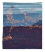 Horizontal Light Fleece Blanket