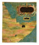 Horn Of Africa, Ethiopia And Somalia Fleece Blanket