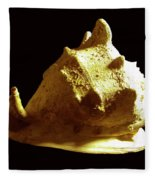 Horned Helmet Seashell Cassis Cornuta Fleece Blanket