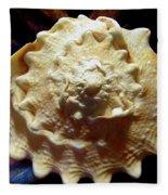 Horned Helmet Shell Top Logarithmic Spiral Fleece Blanket