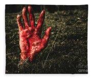 Horror Resurrection Fleece Blanket