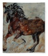 Horse 561 Fleece Blanket