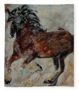 Horse 561 Fleece Blanket