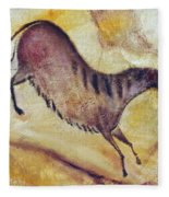Horse A La Altamira Fleece Blanket
