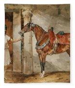 Horse Eastern Fleece Blanket