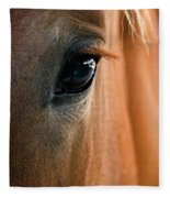 Horse Eye Fleece Blanket